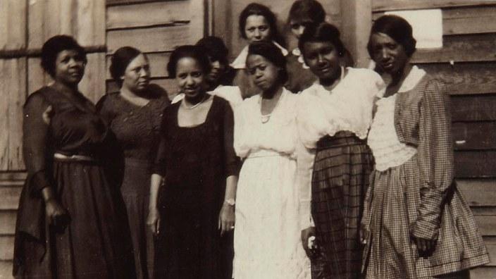 Women's Suffrage Leaders Left Out Black Women  via Teen Vogue