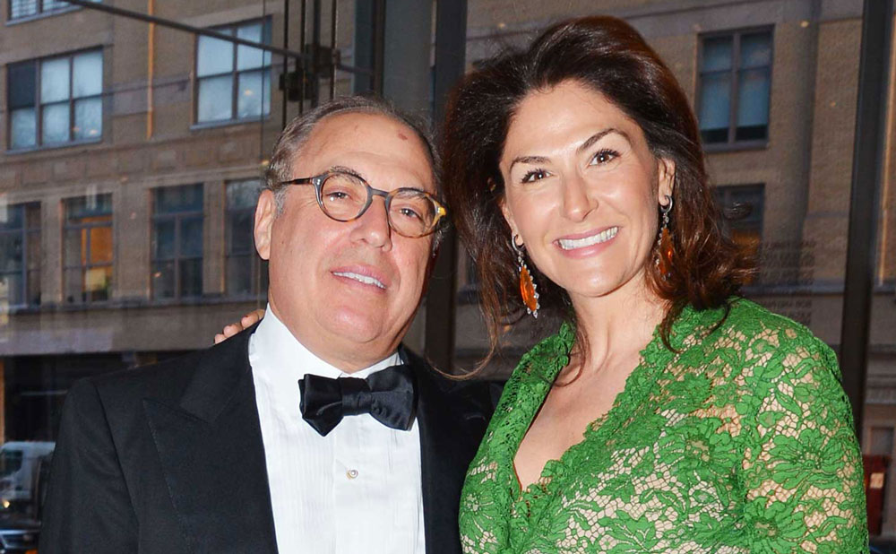 Warren Kanders and his wife Allison, who also resigned from the Whitney Museum along with her husband.