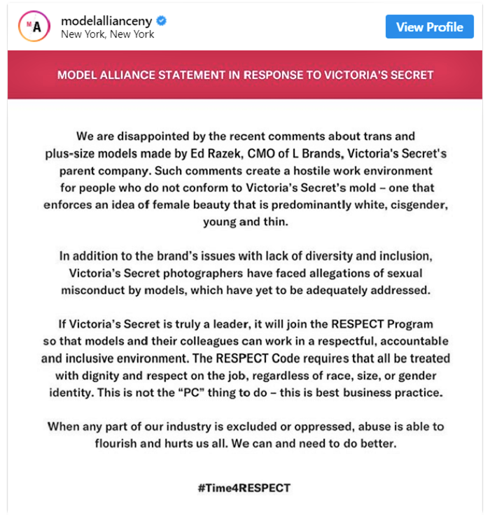 Model Alliance Statement to Ed Razek Nov. 2018.png