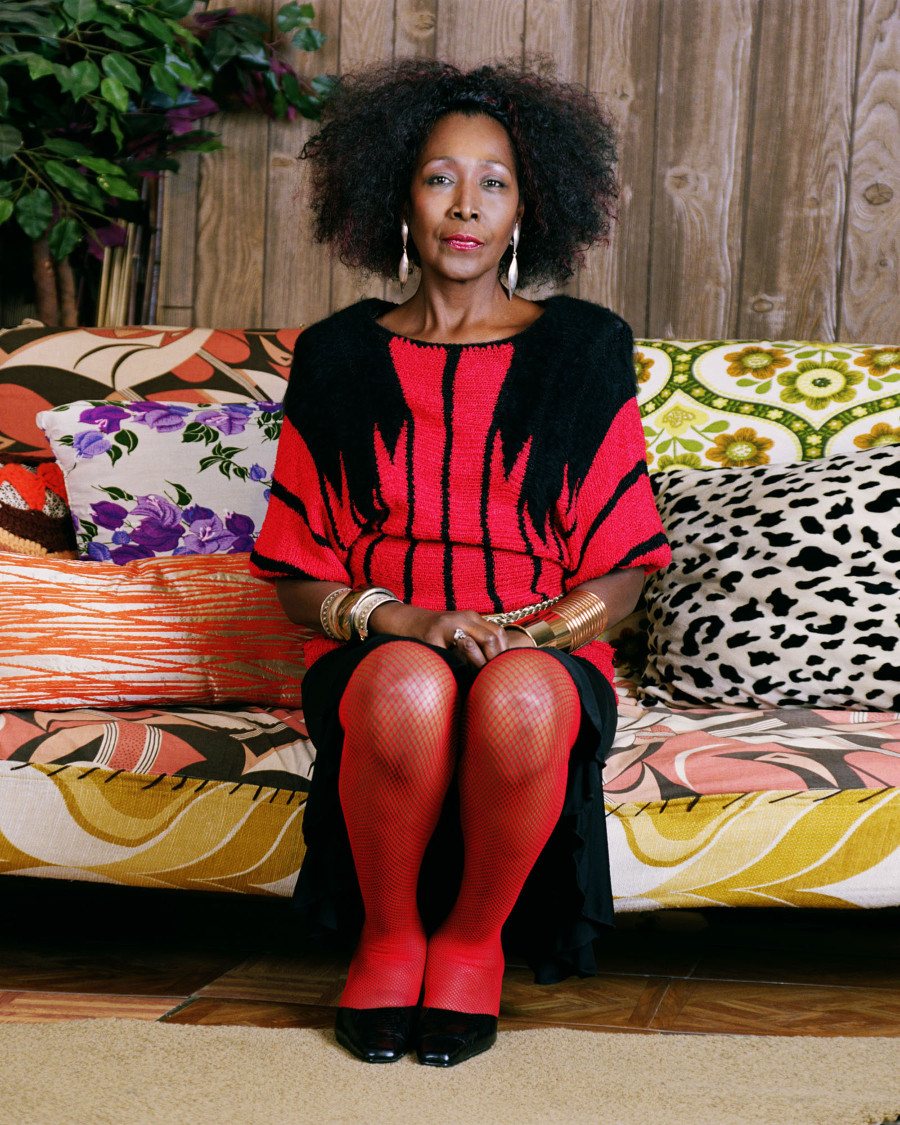 Mickalene Thomas, Sandra Shes A Beauty, C Print, 2009. ©Mickalene Thomas