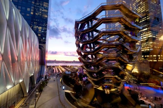 The Vessel at New York City's Hudson Yards.
