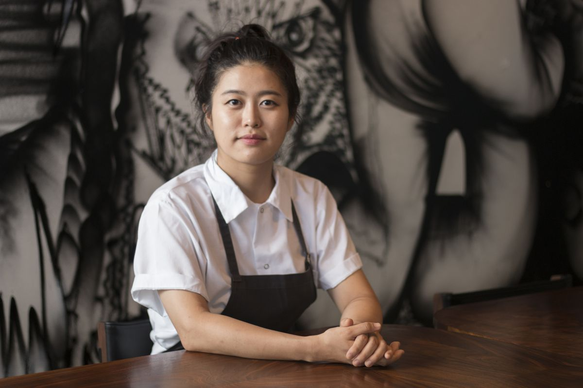 "Eunjo ""Jo"" Park id chef of Momofuki Kawi in Hudson Yards."