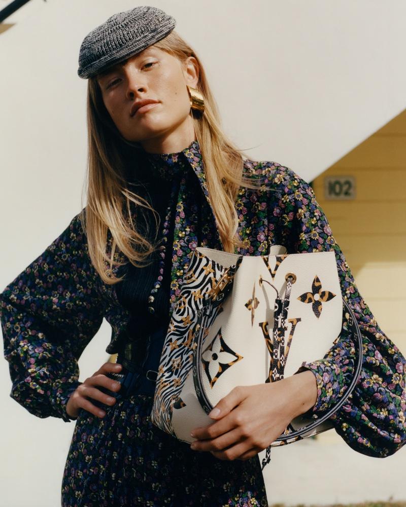 Actor Klara Kristin fronts Louis Vuitton 'Monogram Jungle' campaign