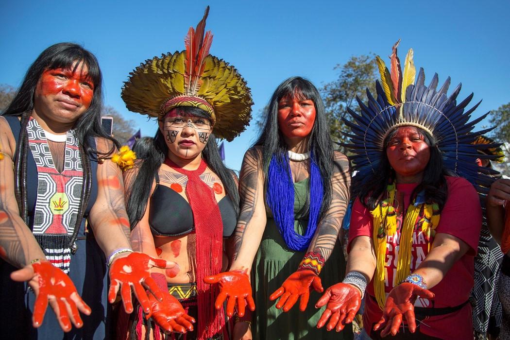 Apib Comunicação March – Aug 2019. Territory: Our body, Our Spirit. Apib Comunicação via Flickr