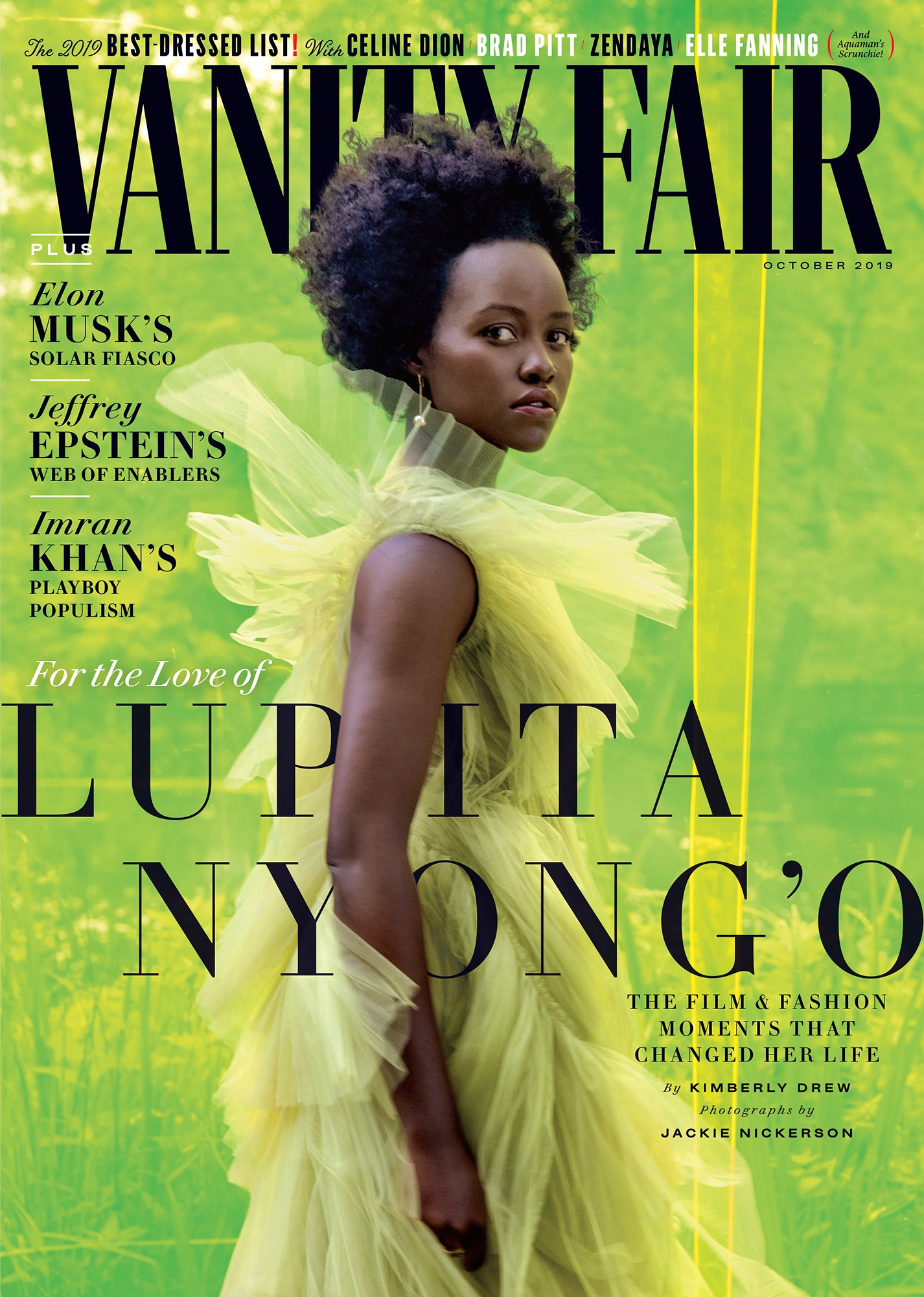 LUPITA NYONG'o. PHOTOGRAPH BY JACKIE NICKERSON; STYLED BY SAMIRA NASR.