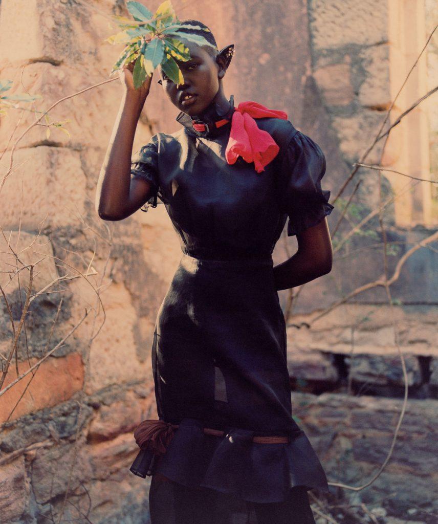 Adut Akech Has Warrior Goddess Status In Andrew Nuding Vogue Australia September Cover Story