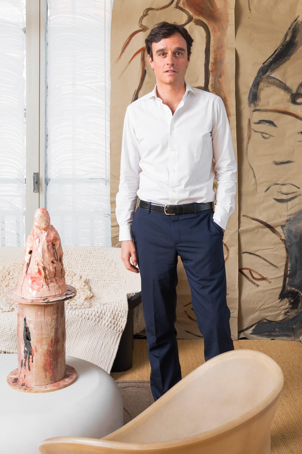 Vogue editor-in-chief Emanuele Farneti for Vogue Italia September 2019 by © DSL Studio.