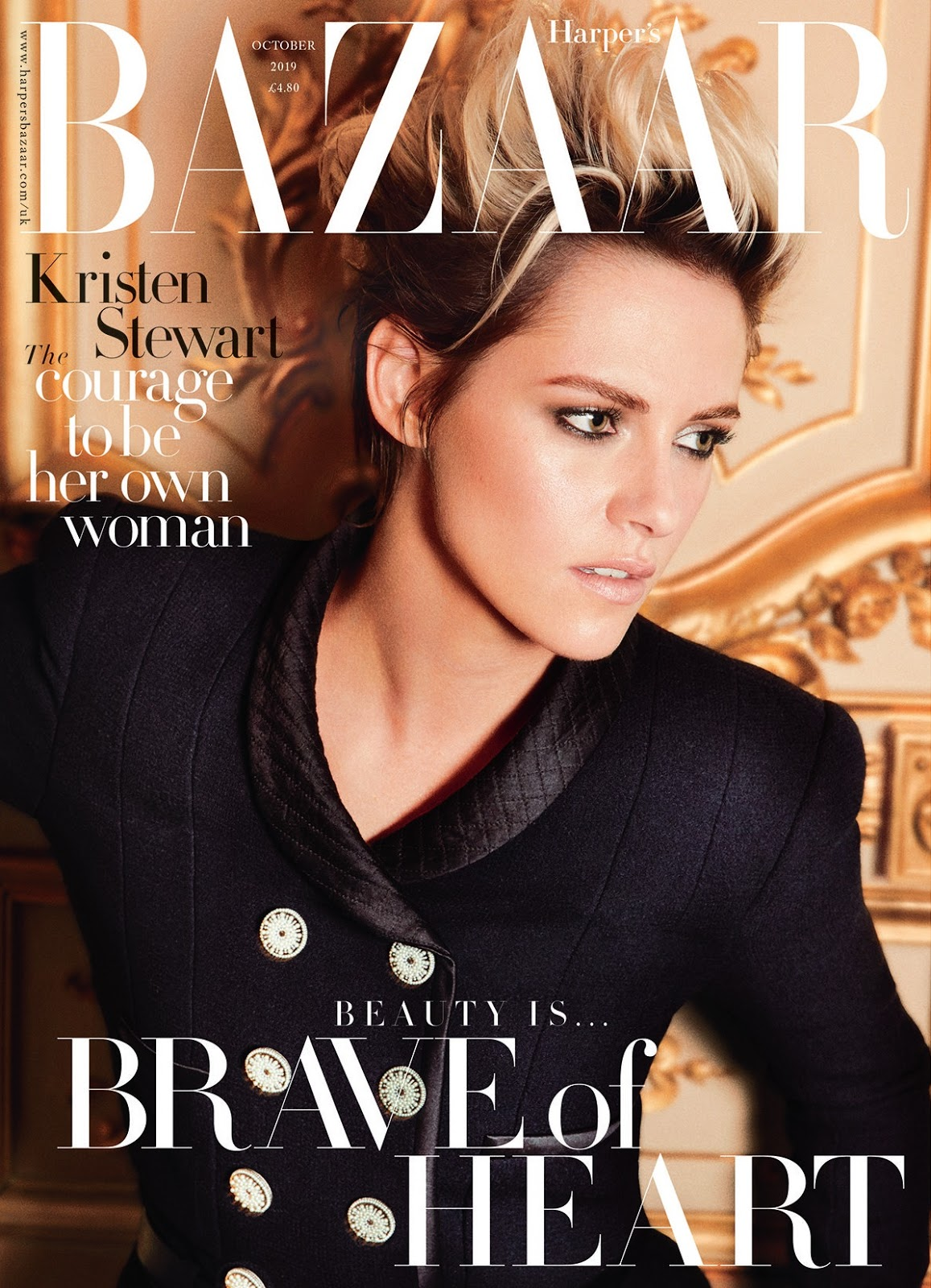 Kristen Stewart by Alexi Lubomirski for Harpers Bazaar UK October 2019  (1).jpg