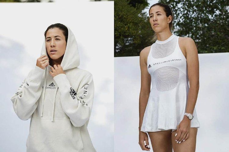 STELLA MCCARTNEY UNVEILS 'INFINITE HOODIE' AND 'BIOFABRIC TENNIS DRESS' PROTOTYPES FOR ADIDAS.