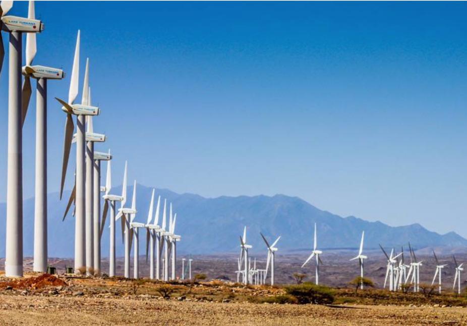 Lake Turkana Wind Power turbines. LTWP