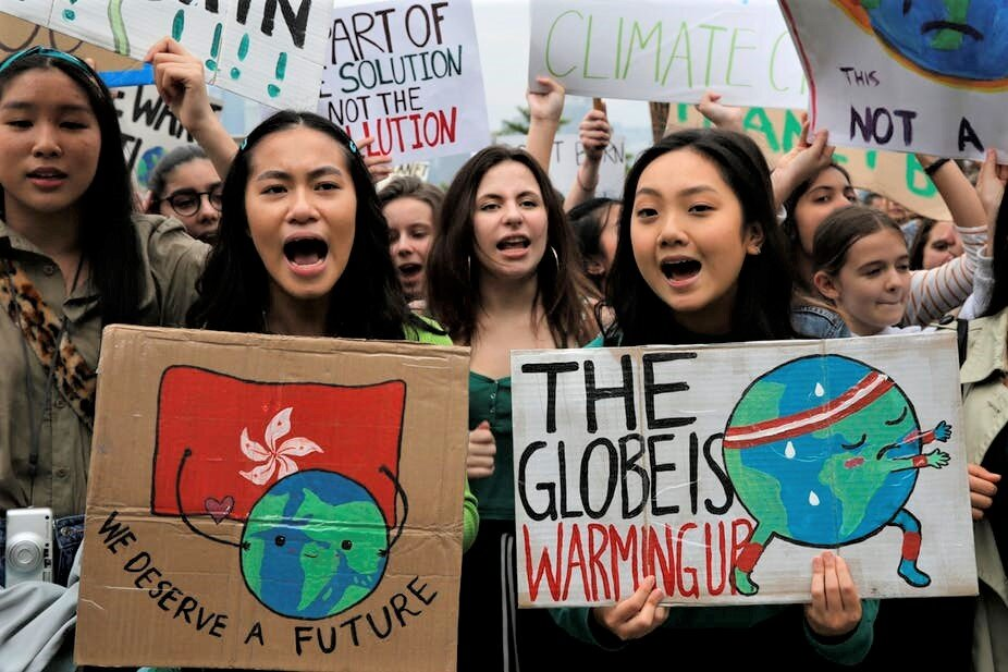 Young environmentalists are putting the ethical dimensions of climate change at the center of a global debate that has historically focused on politics, efficiency and cost-benefits analysis.  AP Photo/Kin Cheung