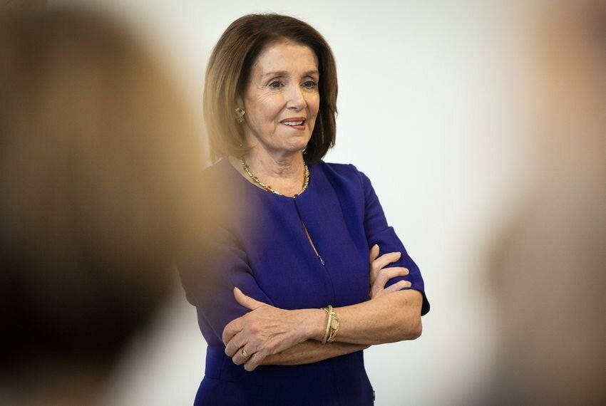House Speaker Nancy Pelosi will be the keynote speaker, with Texas Tribune CEO Evan Smith as moderator, at The Texas Tribune Festival this Saturday.. Image via Miguel Gutierrez Jr./The Texas Tribune.