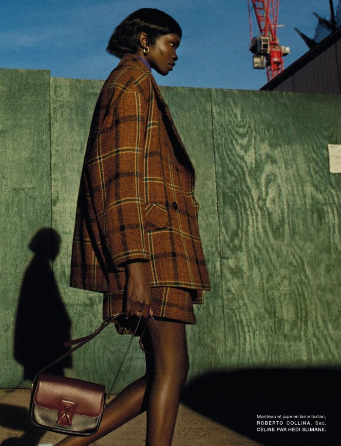 Achienrin Madit by Txema Yeste in 'Harlem' for Numéro France for October 2019.