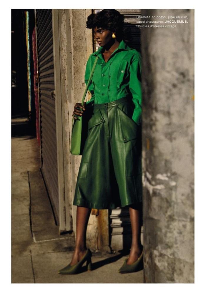 Ayobami Okekunie by Txema Yeste in 'Harlem' for Numéro France for October 2019.