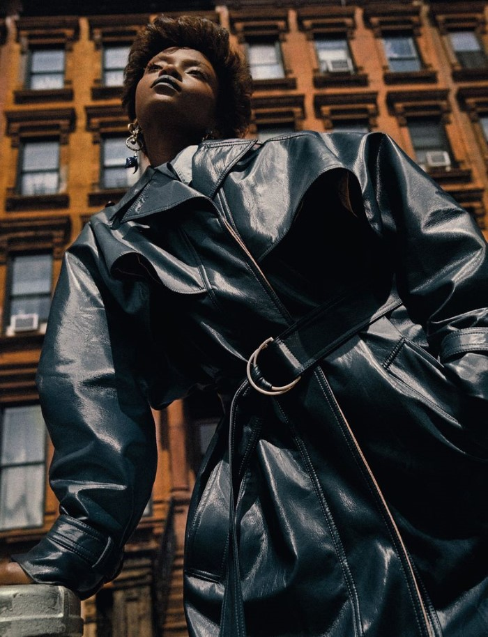 Riley Montana by Txema Yeste in 'Harlem' for Numéro France for October 2019.