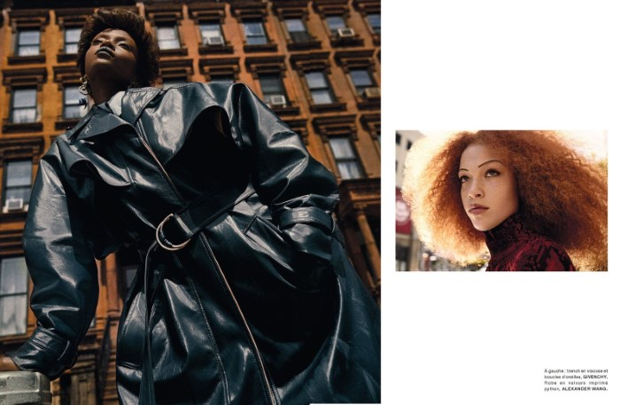 Riley Montana and Tianna St. Louis by Txema Yeste in 'Harlem' for Numéro France for October 2019.