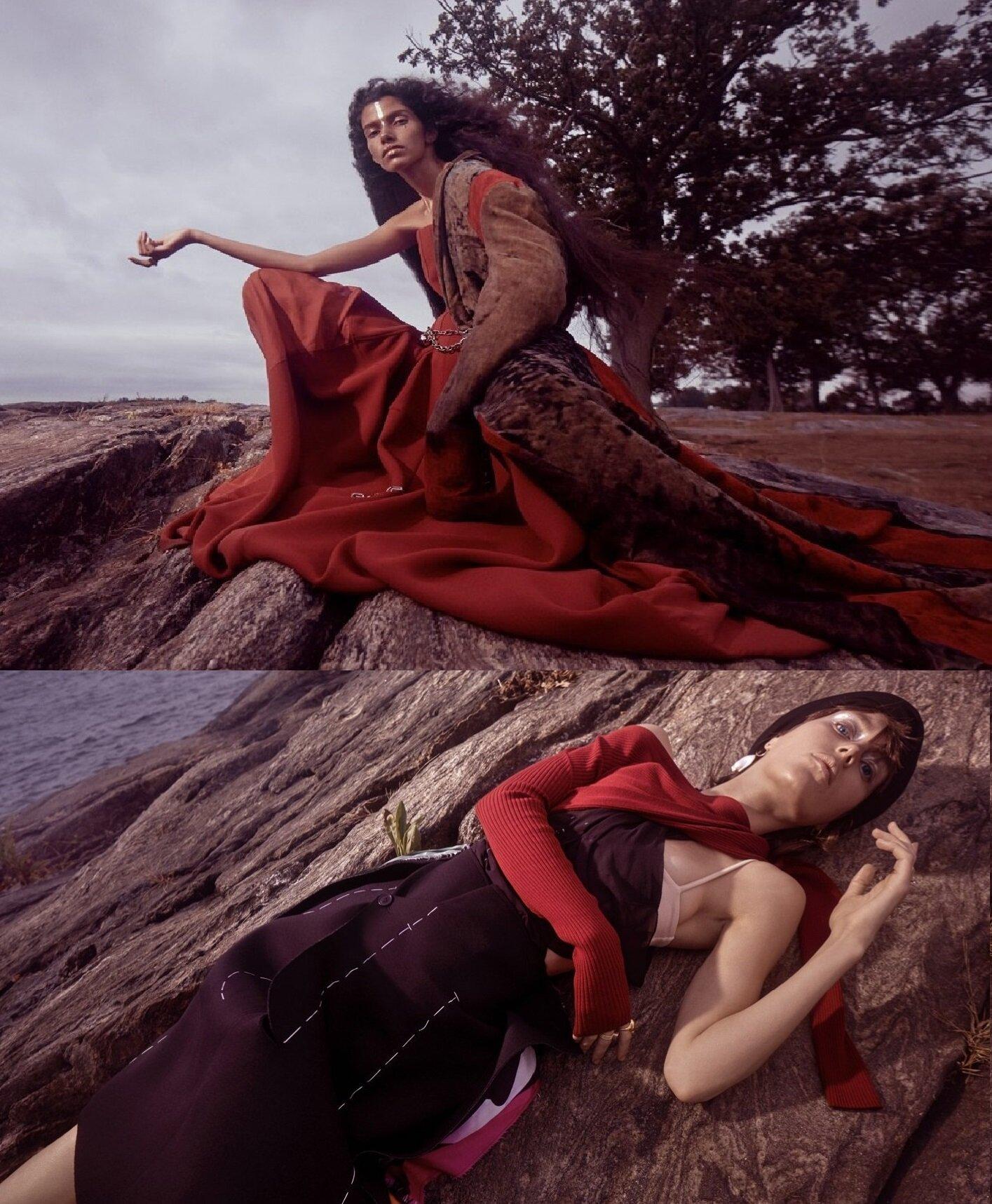 Emma Summerton shoots 'To New Shore' for Emma Summerton in Vogue Germany Nov 2019 (2) duo.jpg