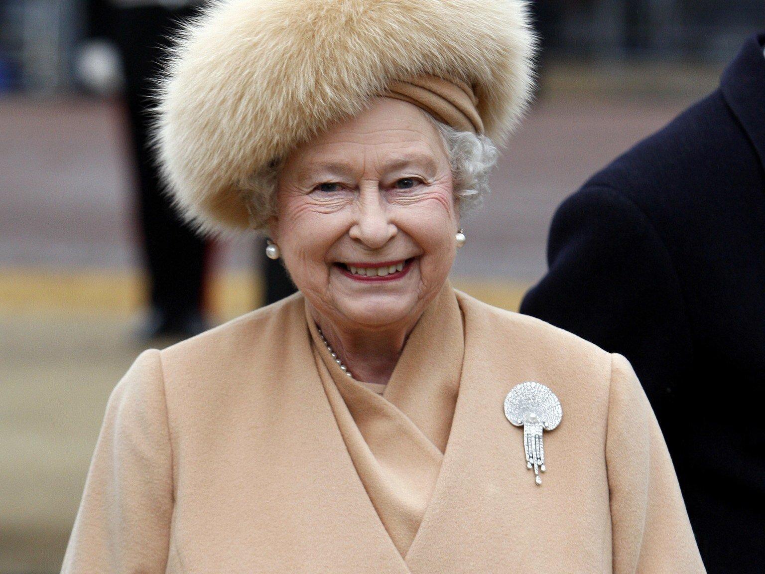 Queen Elizabeth II  via W Magazine