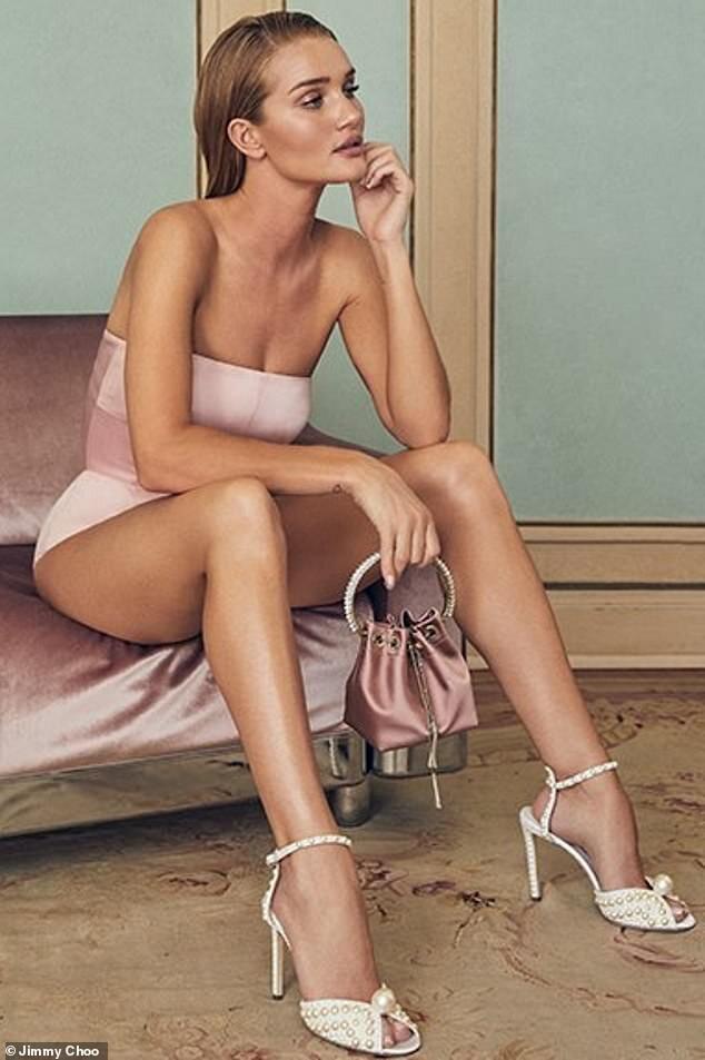 Jimmy Choo Resort 2020 Campaign Taps Rosie Huntington-Whiteley's Great Legs