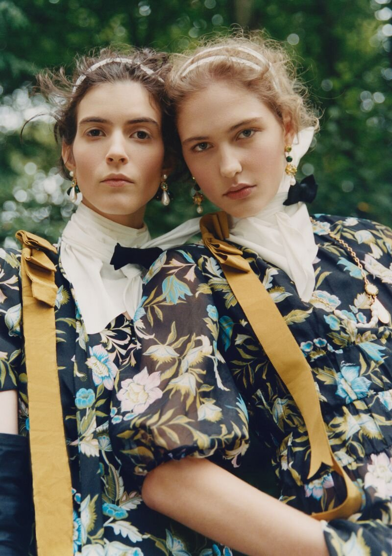 Erdem SS 2021 Collection, 'The Volcano Lover' by Ina Lekiewicz — Anne of Carversville