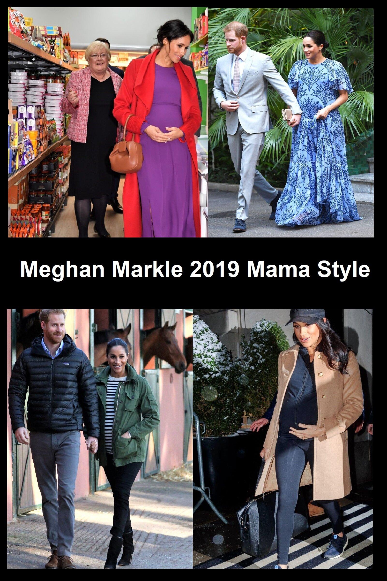 Meghan Markles Modern Women Pregnancy Maternity Clothes Anne Of Carversville