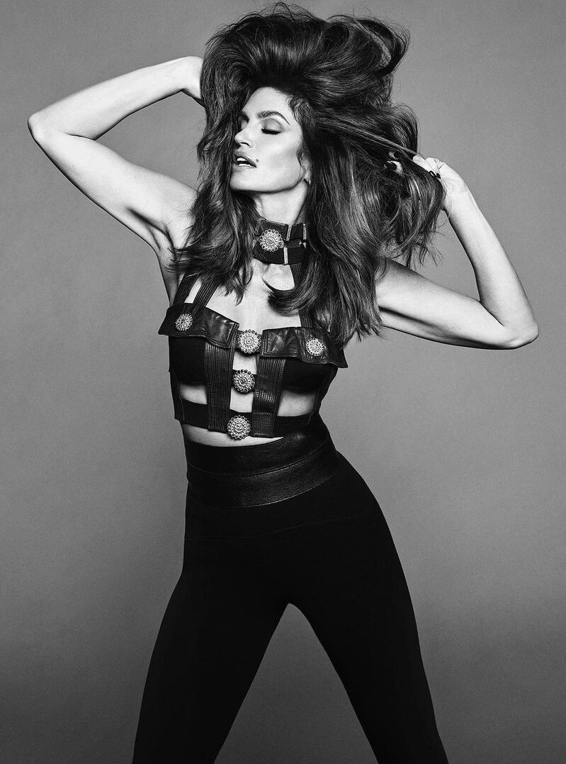 Cindy Crawford Scorches Vogue Brazil 46th Anniversary Issue — Anne of Carversville