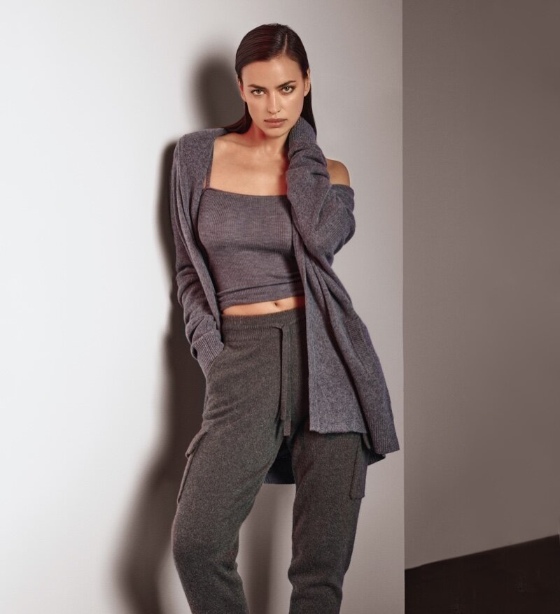 Irina Shayk in Naked Cashmere's Naked in September Campaign — Anne of Carversville