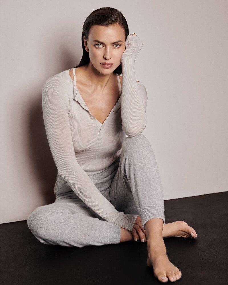 Irina Shayk Smolders in Naked Cashmere's Naked in September Fall 2021 Campaign — Anne of Carversville