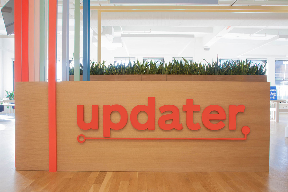 Offices of Updater in Union Square, Manhattan, New York