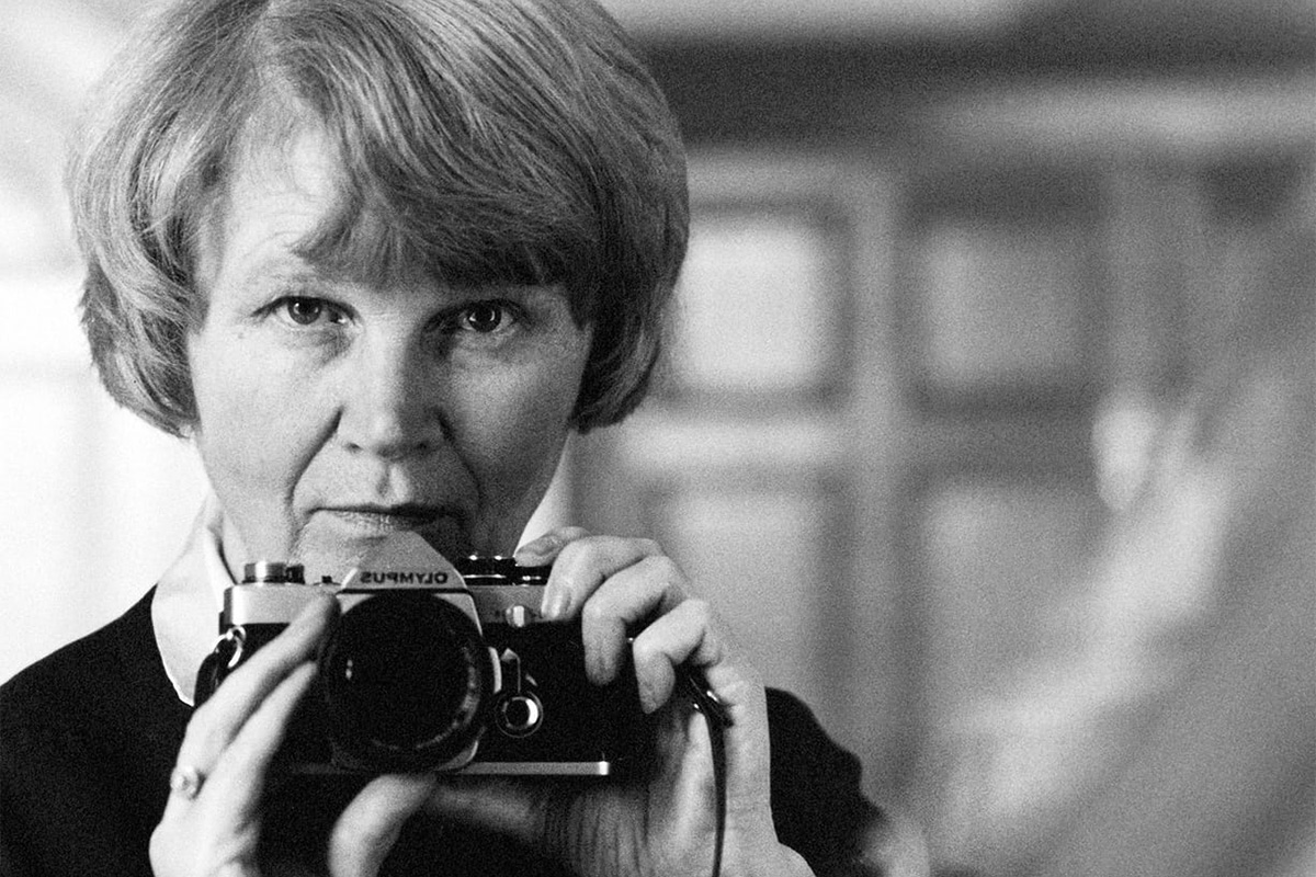 Jane Bown, self portrait