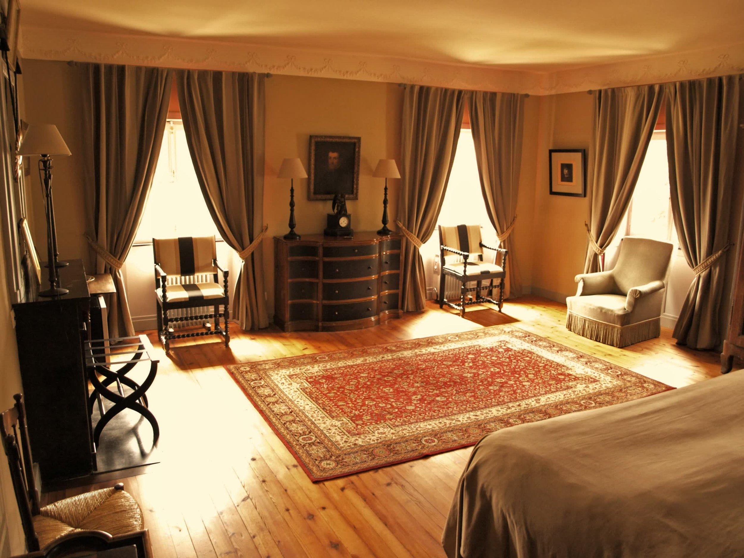 Chateau de la Pommeraye - charming boutique hotel chateau b&b spa normandy calvados bedroom Esquisses 3(2).jpg