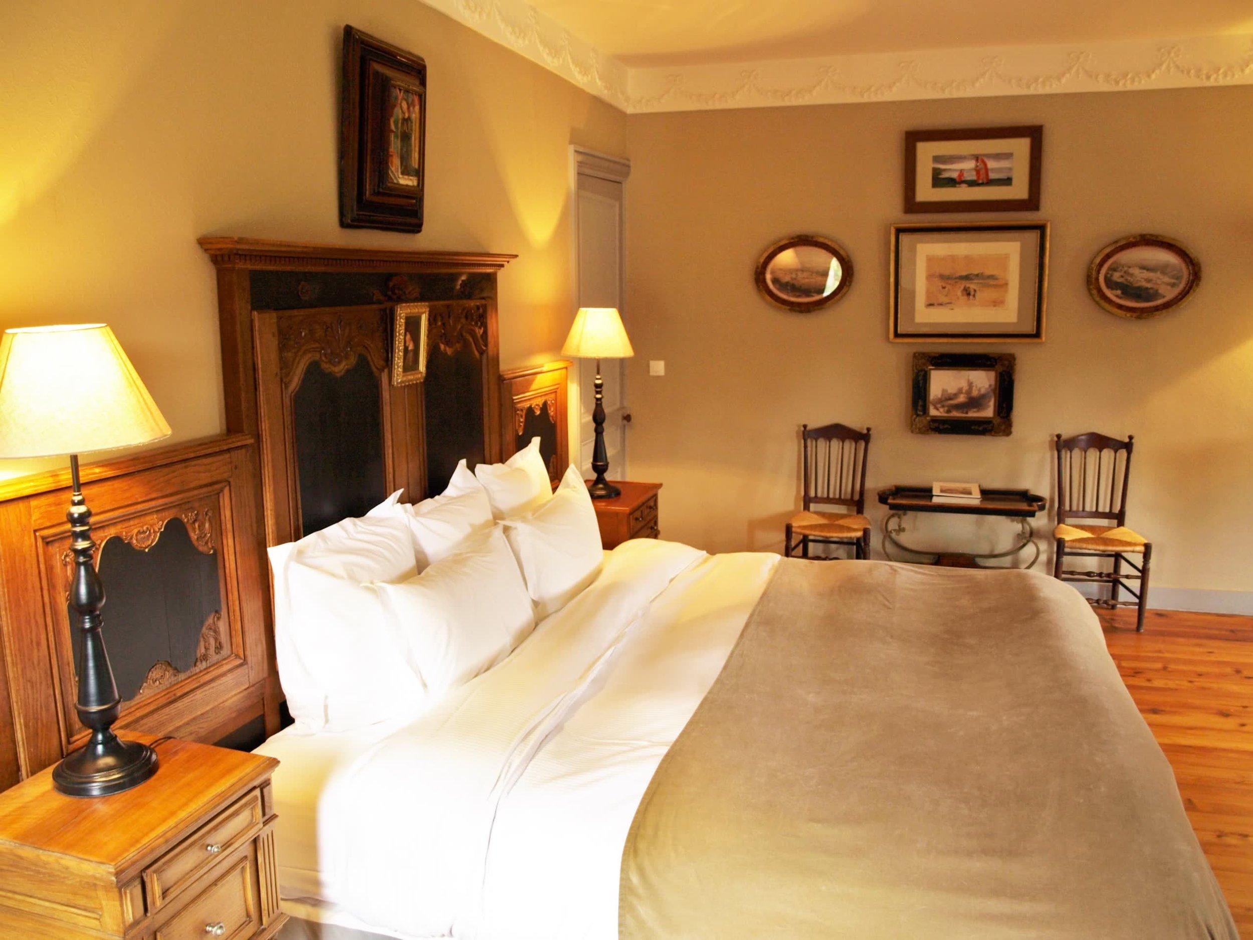 Chateau de la Pommeraye - charming boutique hotel chateau b&b spa normandy calvados bedroom Esquisses(2).jpg