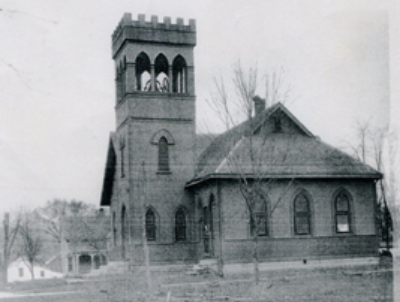 Nashville Presbyterian Church about 1926