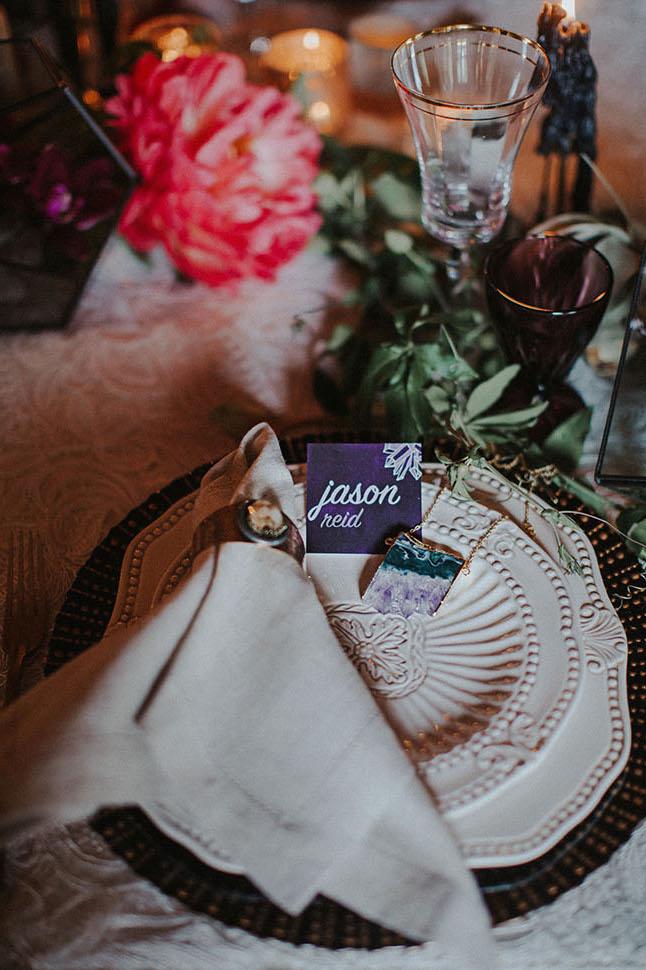 Green Wedding Shoes:Bohemian Wedding Inspiration. Click for more.