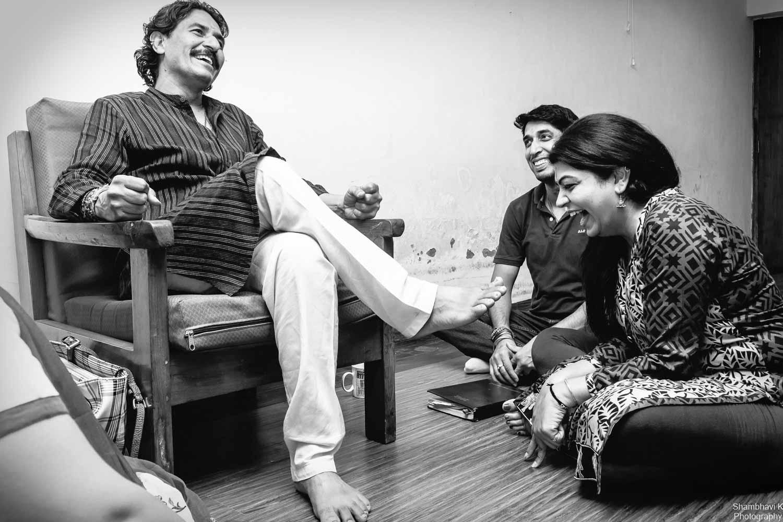 Alighter moment with Guruji