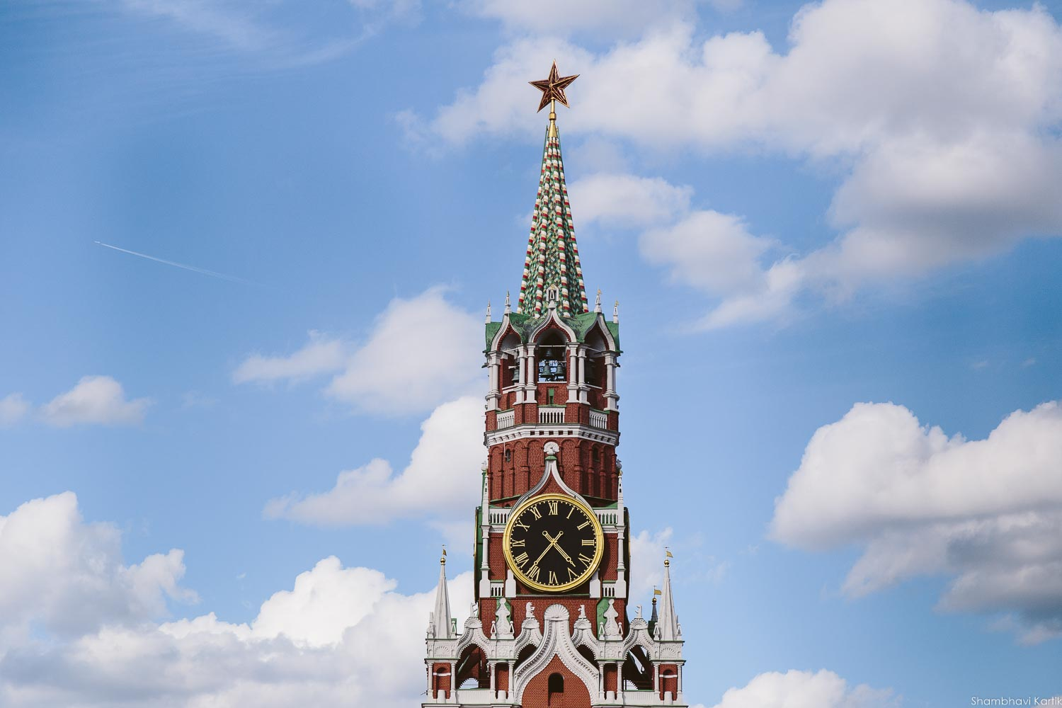 The Saviour tower, Kremlin