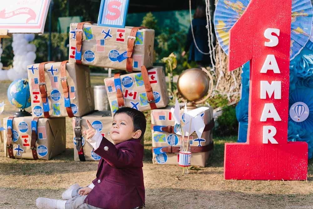 turning one boy birthday shoot