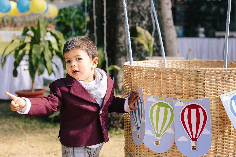 first year boy theme based photoshoot delhi