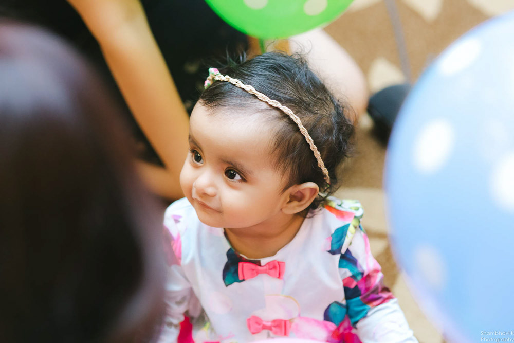 first birthday clebration for baby girl