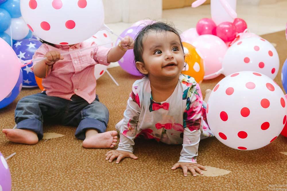 first birthday celebration for girl