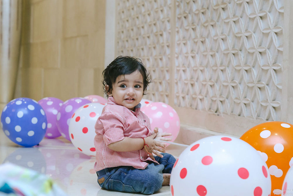 first birthday clebration for baby boy
