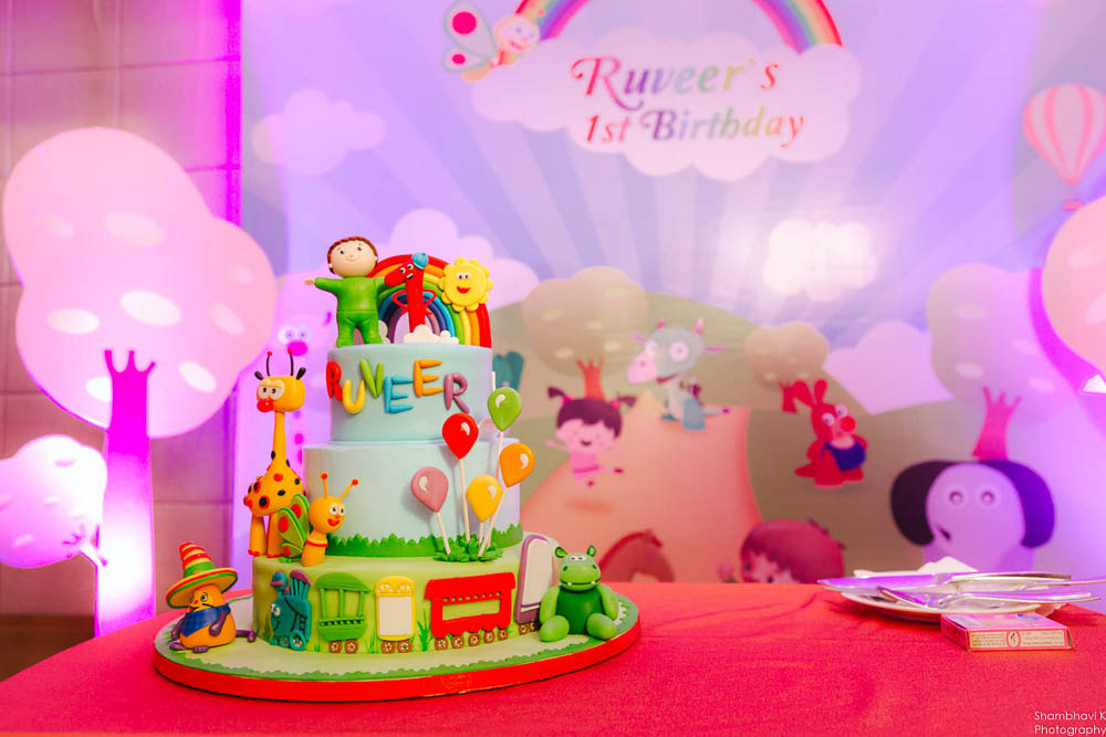 themed cake for birthday celebration