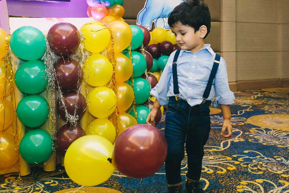 candid moments of birthday boy
