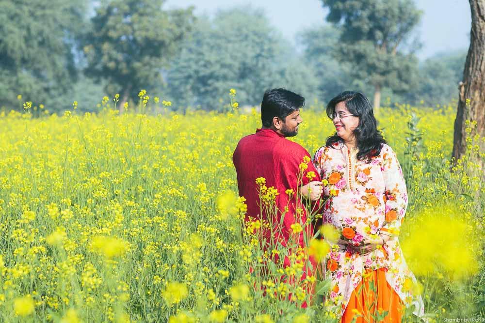 maternity photoshoot delhi-gurgaon outdoor