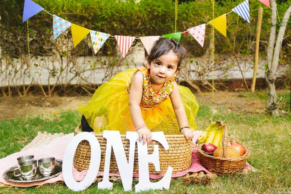 first birthday celebration delhi