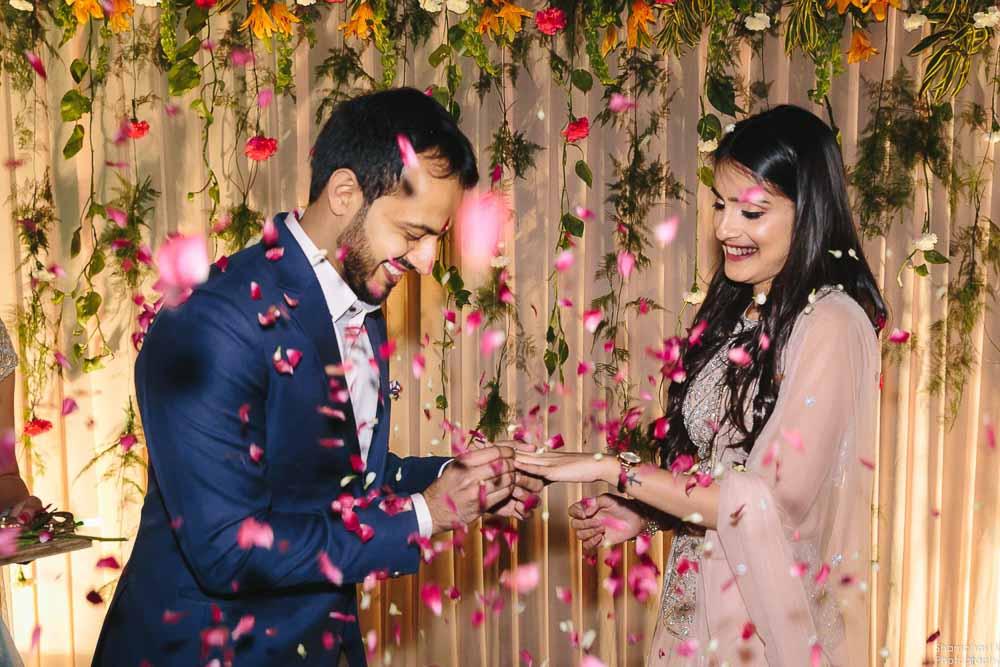 Roka ceremony photoshoot delhi