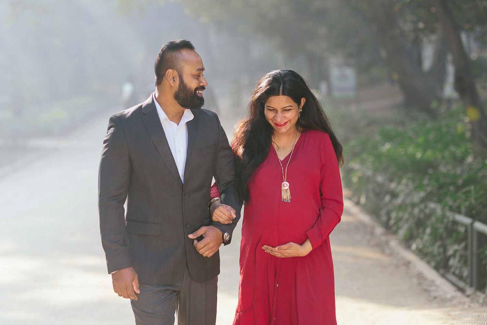 maternity photoshoot in delhi lodhi garden