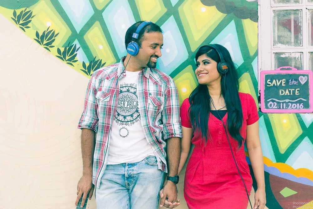 theme based pre-wedding photoshoot in delhi