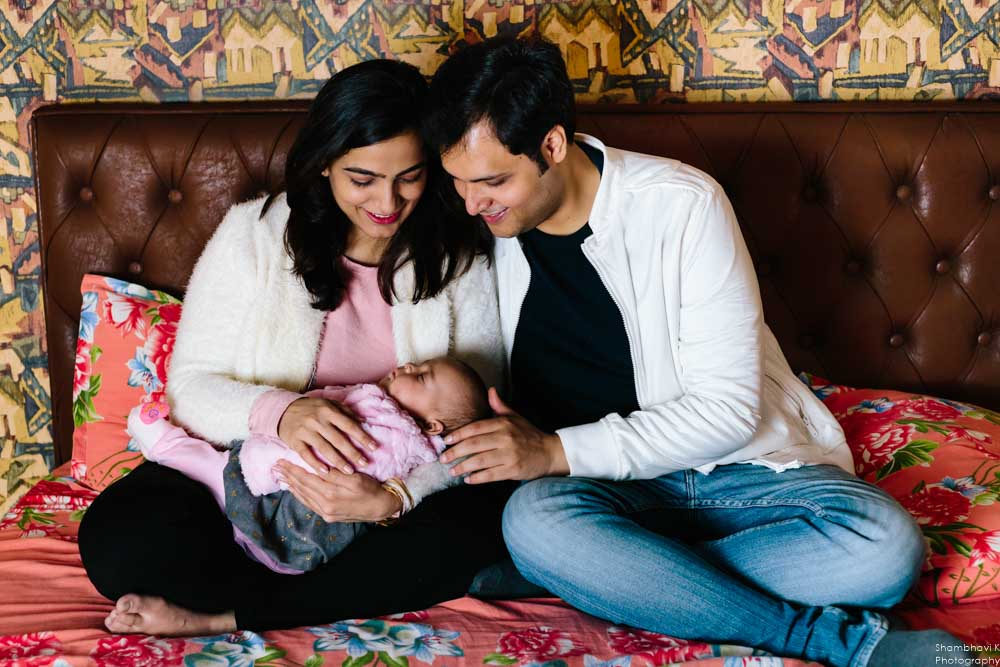 completed 5 month baby photoshoot gurgaon