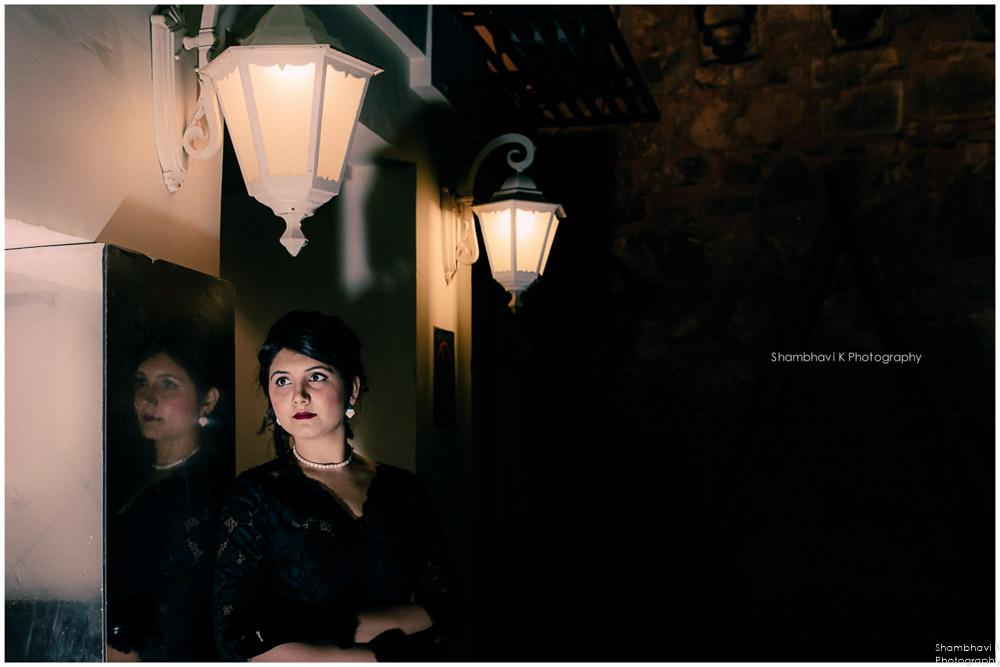 noir themed post wedding photoshoot gurgaon